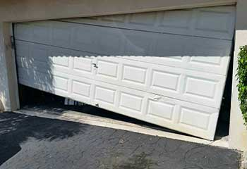Garage Door Off Track In Cypress CA